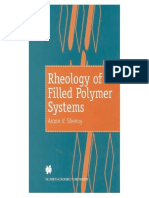 Reology of Filled Polymer Systems