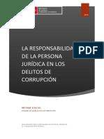 Informe La Responsabilidad de Las Personas Juridicas