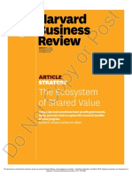 The Ecosystem of Shared Value