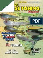 Texas Bass Fishing Mag Fall 2010