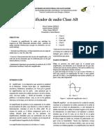 Amplificador Clase AB