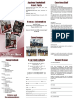 2019 AQ Camp Brochure