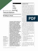 1996 Staff Attitudes Towards FPDR