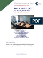 Presentacion Ofimatica Empresarial - Word Excel y Power Point