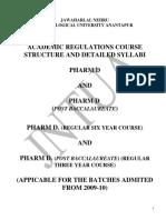 Pharm.D. - Regulations and Syllabus.pdf