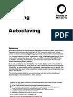 autoclaving
