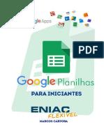 Apostila Google Planilhas