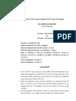 Case details 125 Crpc