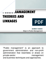 Management Theories and Linkages