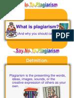Plagiarism Lesson Ppt