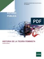 Programación Historia de La Teoria Feminista