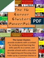 3 - 16 Career Clusters PowerPoint