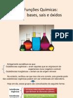 Descrição Dos Tipos de Funções Químicas, Suas Propriedades e Seus Efeitos Químicos e Biológicos