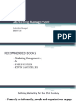 Marketing Management Lecture 1