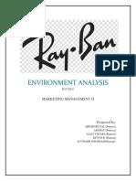 Environment Analysis Rayban