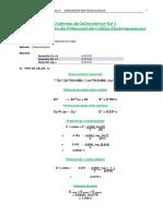 Determinación de Potencial de Celdas Electroquímicas