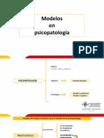 Diapositiva Modelos en Psicopatología