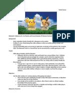 nintendo- pokemon brief