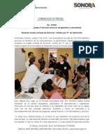 05-09-19 Lleva Gobernadora Pavlovich servicios de gobierno a sonorenses