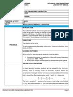 Lab Manual 2.4 - LEVEL 0_Application of Bernoulli Equation