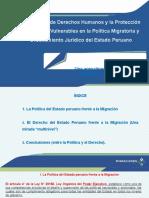 EL ESTADO PERUANO FRENTE A LA MIGRACIÓN (21JUN2019).pptx