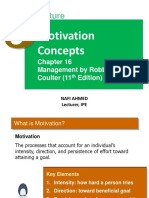 5. Motivation Concepts