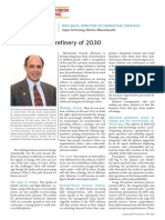 A Vision for the Refinery of 2030