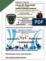 Curriculum Vitae Santiago Yansen Personalisado