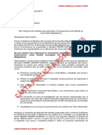 Carta Abierta Concordia II