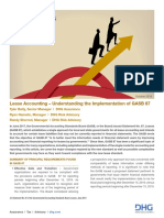 Lease Accounting Understanding the Implementation of GASB 87 DHG