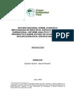 Estudio Nacional Sobre Avances e Implicancias de IIRSA en El Espacio Nacional y Subnacional