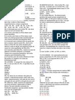 Prof. ADÃO MARCOS Questões sobre o Sistema ABO/RH..