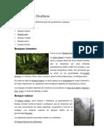 Ecosistemas de Honduras