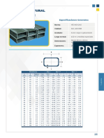 caracteristicas de un perfil rectangular