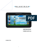 Bluetech Mid700 Gbt001 Manual de Usuario