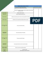 Plantilla Procedimiento Operativo Estandarizado de Sanitización (POES)