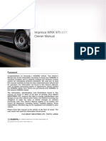 Subaru+WRX+&+WRX+STI+Manuals+2011+Impreza+WRX+&+WRX+STI+Owner's+Manual