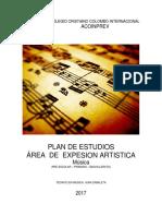 Plan de Estudio Musica