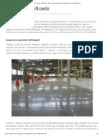 Concreto Vitrificado - Mais Uma Engenharia - Engenharia Civil _ Arquitetura