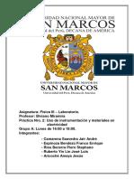 Informe Física III - Uso de instrumentación y medición eléctrica.docx