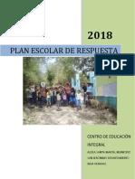 Plan Escolar de Respuesta 2018
