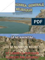 Caracterizarea Generala a Reliefului