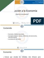 1. Que Es La Economia