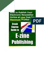 Crash Course Guide to E-zine Publishing