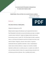 Estructura ponencia Taller de Investigación II-1