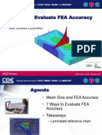 7 Ways to Evaluate FEA Accuracy