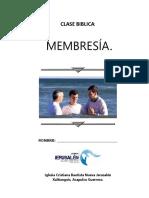 Clase Membresia