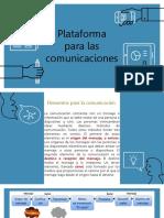 Plataforma Para Las Comunicaciones E4