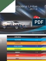 Catalogo automotriz Uribe