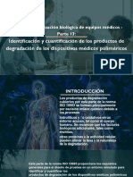 ISO 10993- Evaluación Biológica de Equipos Médicos